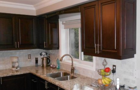raised kitchen cabinets
