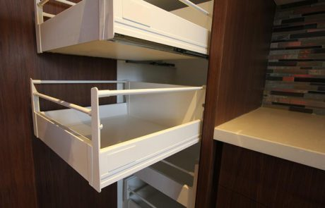 sliding kitchen cabinet drawers