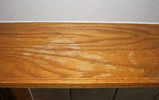 water stain on wood